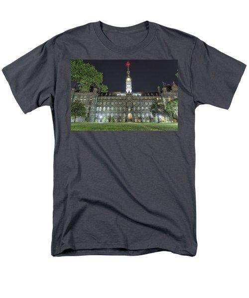 Healy Hall Men's T-Shirt  (Regular Fit) by Belinda Greb
