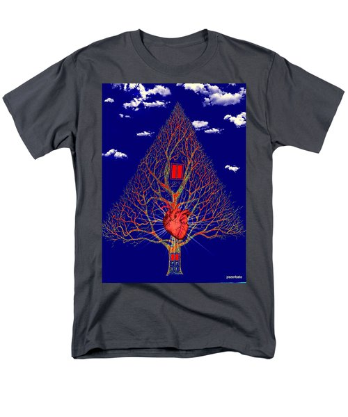 Heart Is The Abode Of The Spirit Men's T-Shirt  (Regular Fit) by Paulo Zerbato