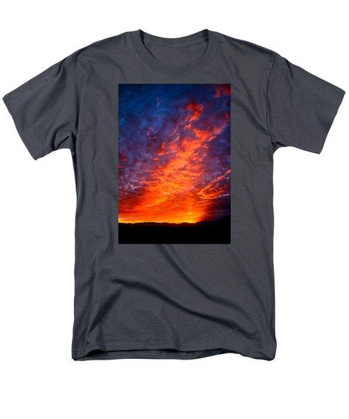 Heavenly Flames Men's T-Shirt  (Regular Fit) by Paul Marto