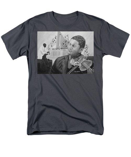 Heavenly Music Men's T-Shirt  (Regular Fit) by Quwatha Valentine