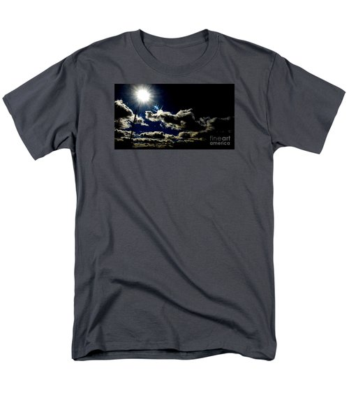 Men's T-Shirt  (Regular Fit) featuring the photograph Heinlein's Horizon by Jesse Ciazza