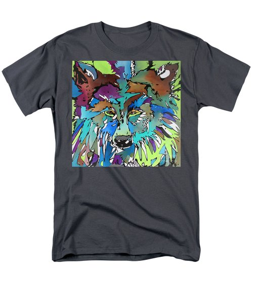 Men's T-Shirt  (Regular Fit) featuring the painting Hell-bent by Nicole Gaitan