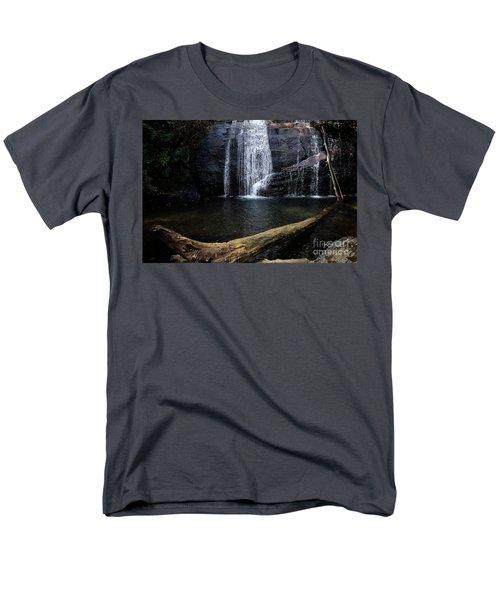 Helton Creek Falls Georgia Men's T-Shirt  (Regular Fit)