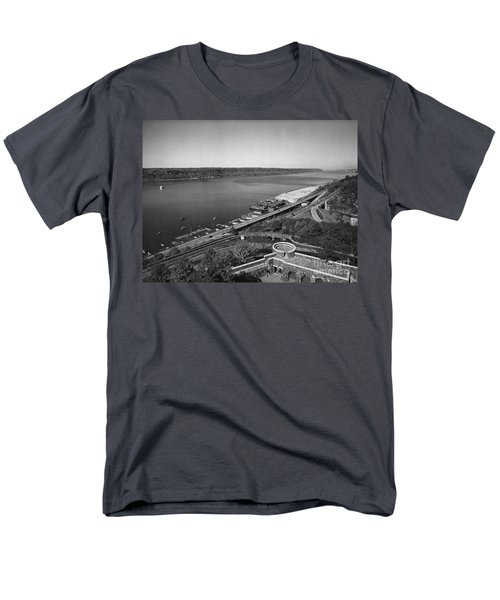 Men's T-Shirt  (Regular Fit) featuring the photograph Henry Hudson Parkway, 1936 by Cole Thompson