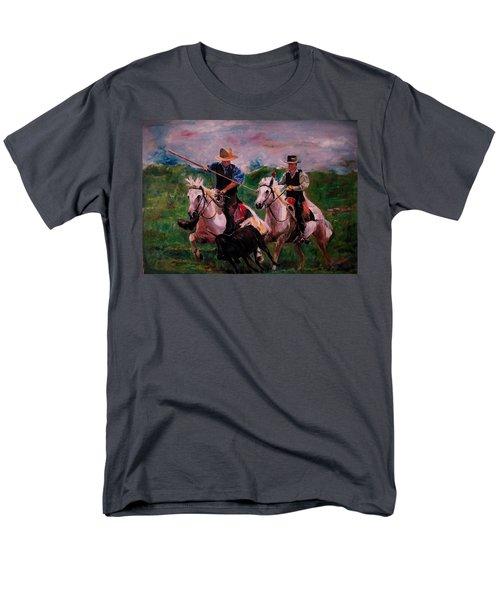 Herdsmen Men's T-Shirt  (Regular Fit) by Khalid Saeed