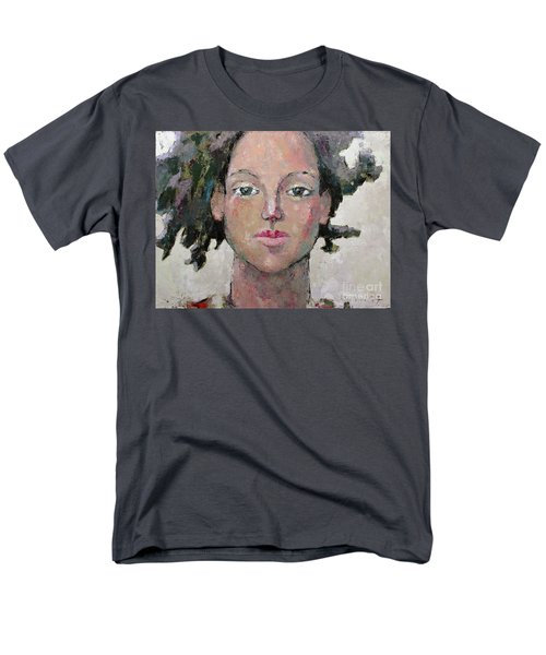 Men's T-Shirt  (Regular Fit) featuring the painting Here I Am by Becky Kim