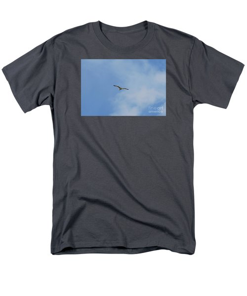 Men's T-Shirt  (Regular Fit) featuring the photograph Herring Sea Gull 20120409_241a by Tina Hopkins