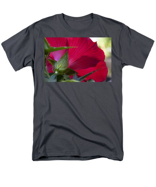 Men's T-Shirt  (Regular Fit) featuring the photograph Hibiscus by Charles Harden