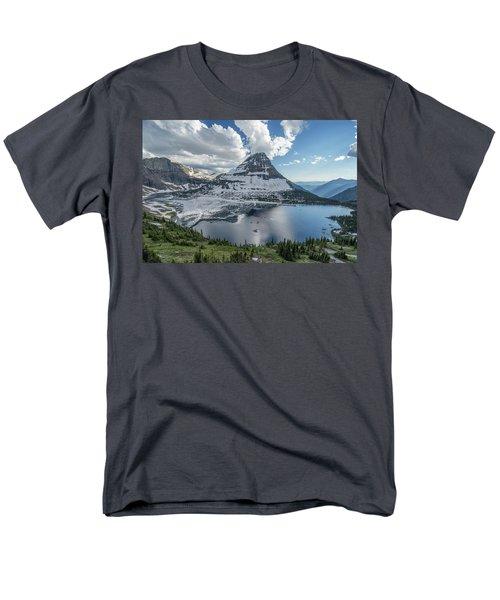Hidden Lake Men's T-Shirt  (Regular Fit) by Alpha Wanderlust