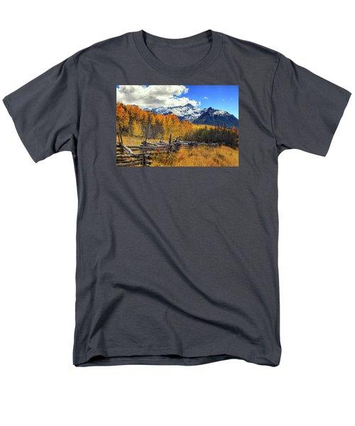 High County Ablaze Men's T-Shirt  (Regular Fit) by Rick Furmanek