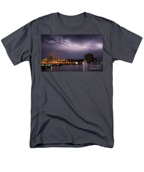 High Point Place Nights Men's T-Shirt  (Regular Fit) by Quinn Sedam