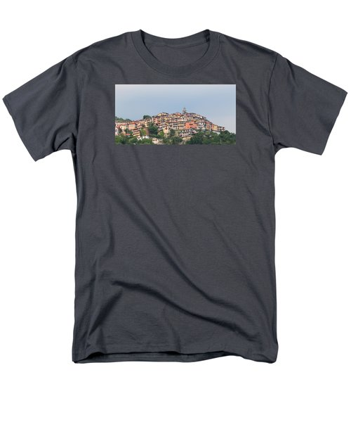 Men's T-Shirt  (Regular Fit) featuring the photograph Hilltop by Richard Patmore