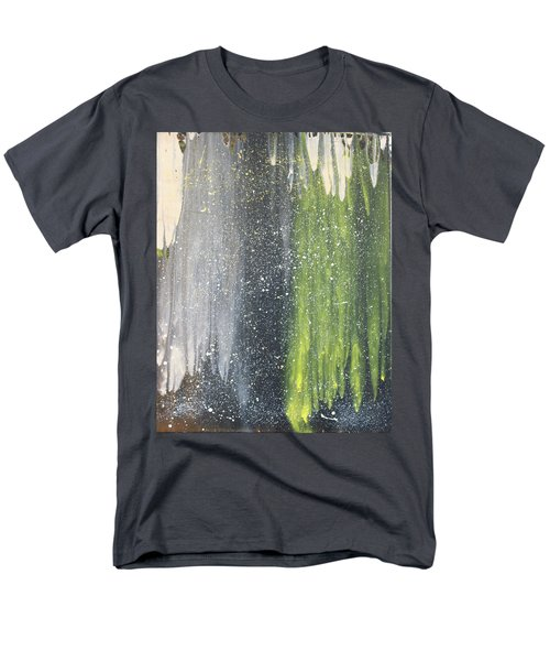 His World Men's T-Shirt  (Regular Fit) by Cyrionna The Cyerial Artist