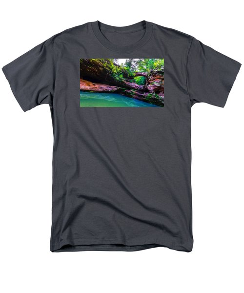 Men's T-Shirt  (Regular Fit) featuring the photograph Hocking Hills State Park 4 by Brian Stevens
