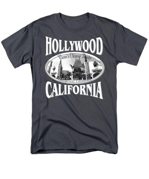 Hollywood California Tshirt Design Men's T-Shirt  (Regular Fit)