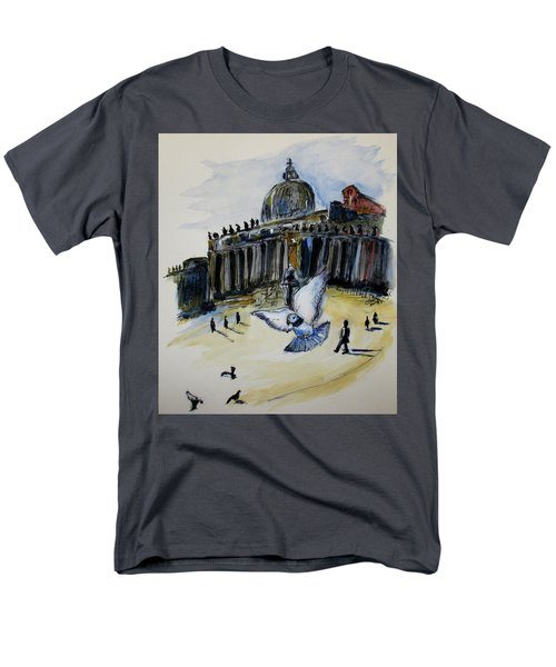 Holy Pigeons Men's T-Shirt  (Regular Fit) by Clyde J Kell