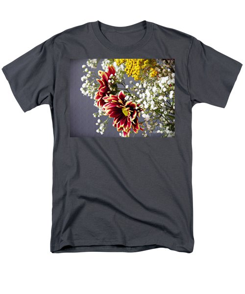 Men's T-Shirt  (Regular Fit) featuring the photograph Holy Week Flowers 2017 5 by Sarah Loft