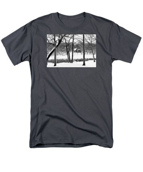 Home On The River Men's T-Shirt  (Regular Fit) by Kathy M Krause