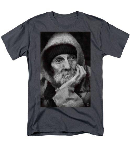 Men's T-Shirt  (Regular Fit) featuring the digital art Homeless by Gun Legler
