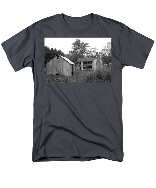 Homestead Men's T-Shirt  (Regular Fit) by Annlynn Ward