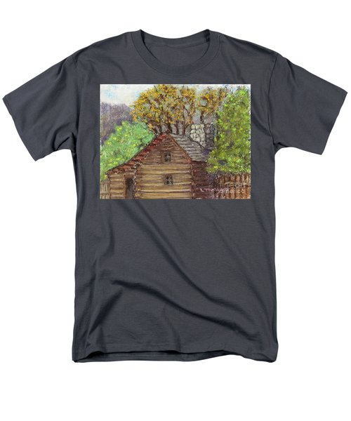 Homestead Men's T-Shirt  (Regular Fit) by Laurie Morgan