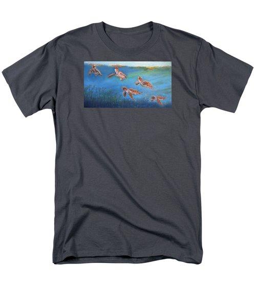 Homeward Bound Men's T-Shirt  (Regular Fit) by Ceci Watson