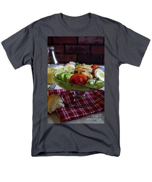 Men's T-Shirt  (Regular Fit) featuring the photograph Honey Mustard Chicken Cobb Salad 2 by Deborah Klubertanz