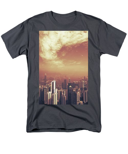 Men's T-Shirt  (Regular Fit) featuring the photograph Hong Kong Portrait by Joseph Westrupp