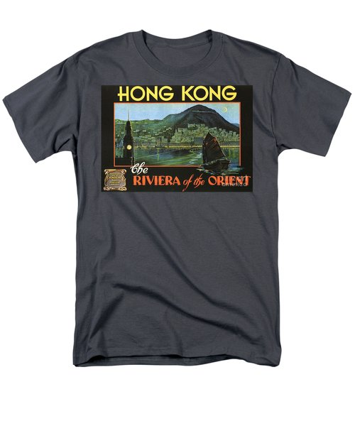Hong Kong - Riviera Of The Orient Men's T-Shirt  (Regular Fit) by Roberto Prusso