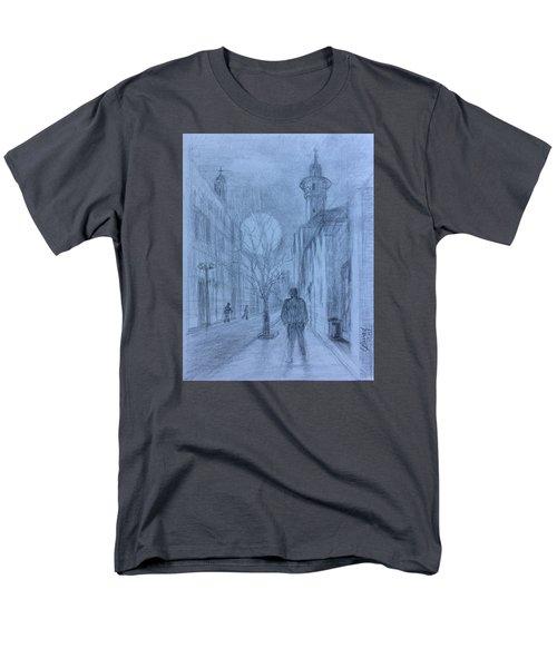 Moon Of Hope Men's T-Shirt  (Regular Fit) by Laila Awad Jamaleldin