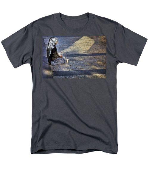 Hope On Champs-elysee Men's T-Shirt  (Regular Fit) by John Hansen