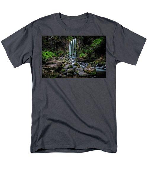 Hopetoun Falls Men's T-Shirt  (Regular Fit) by Mark Lucey