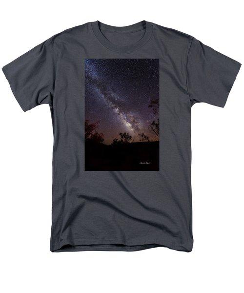 Hot August Night Under The Milky Way Men's T-Shirt  (Regular Fit)