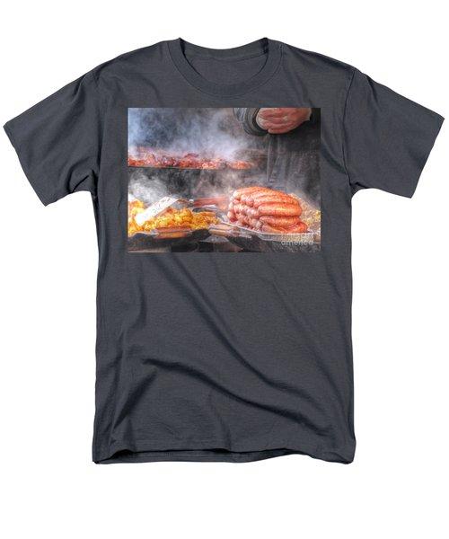 Hot Sausage Hot Dog Men's T-Shirt  (Regular Fit) by Yury Bashkin