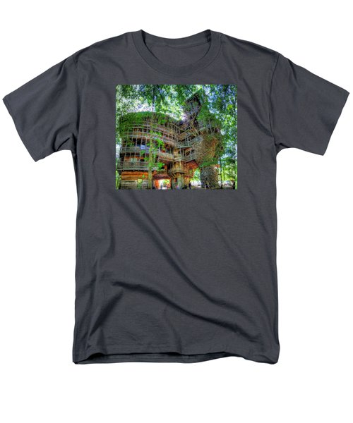 Men's T-Shirt  (Regular Fit) featuring the painting Hotel California by Mario Carini