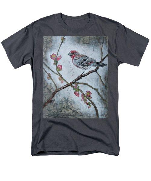 House Finch Men's T-Shirt  (Regular Fit) by Sheri Howe