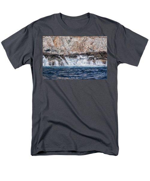 Huatulco Textures Men's T-Shirt  (Regular Fit) by Ana Mireles