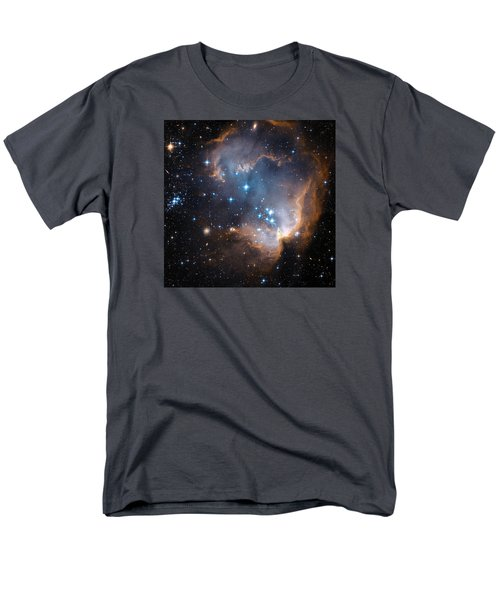 Hubble's View Of N90 Star-forming Region Men's T-Shirt  (Regular Fit) by Nasa