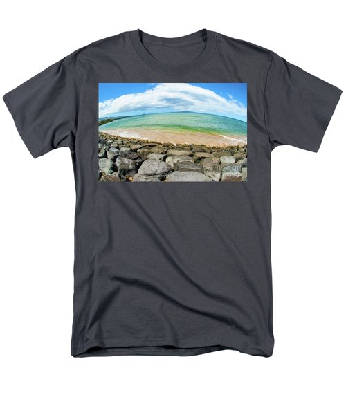 Men's T-Shirt  (Regular Fit) featuring the photograph Huge Wikiki Beach by Micah May