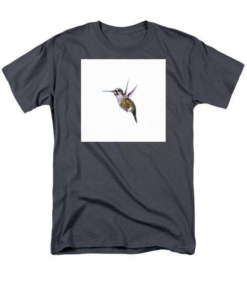 Hummingbird In Flight Men's T-Shirt  (Regular Fit) by E Faithe Lester