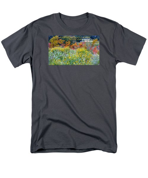 Men's T-Shirt  (Regular Fit) featuring the photograph Hundred Hearts by David Norman