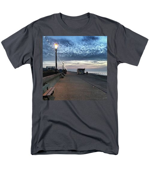 Hunstanton At 5pm Today  #sea #beach Men's T-Shirt  (Regular Fit) by John Edwards