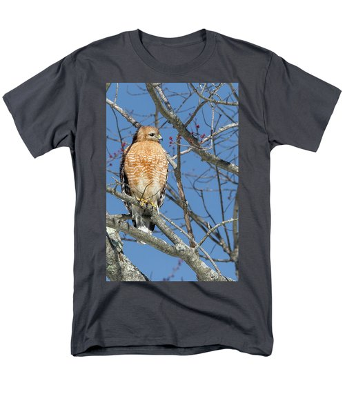 Men's T-Shirt  (Regular Fit) featuring the photograph Hunting by Bill Wakeley