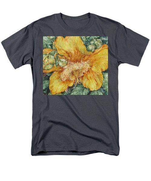Hypericum Plant Men's T-Shirt  (Regular Fit) by Kim Tran