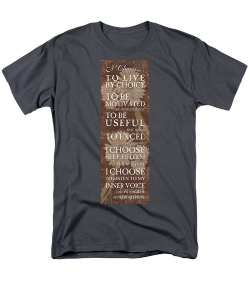 I Choose... Men's T-Shirt  (Regular Fit)