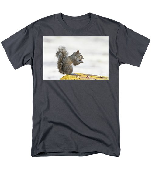 Men's T-Shirt  (Regular Fit) featuring the photograph I Have My Nuts by Deborah Benoit