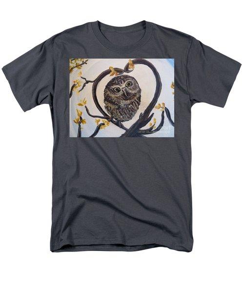 I Heart You Men's T-Shirt  (Regular Fit) by Kimberlee Baxter