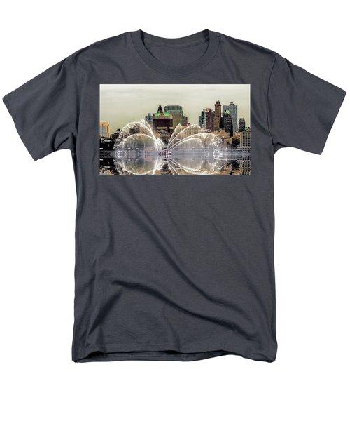 I Love My Job Men's T-Shirt  (Regular Fit) by Jeffrey Jensen