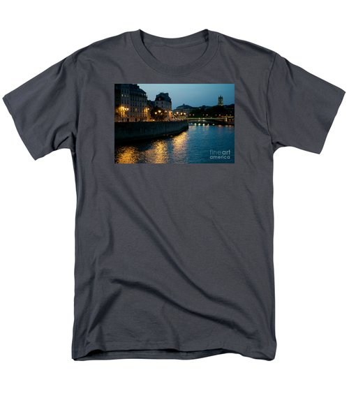 I Love Paris Men's T-Shirt  (Regular Fit) by Sandy Molinaro