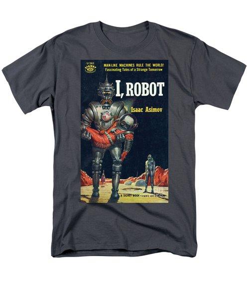 Men's T-Shirt  (Regular Fit) featuring the painting I, Robot by Robert Schulz